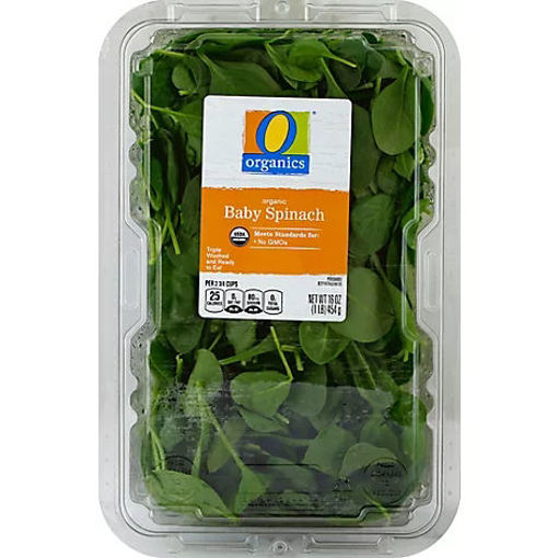 Picture of Organic Baby Spinach - 16 Oz