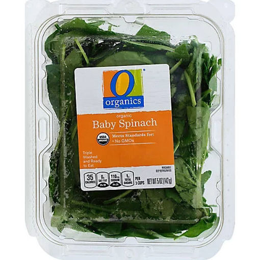 Picture of Organic Baby Spinach - 5 Oz