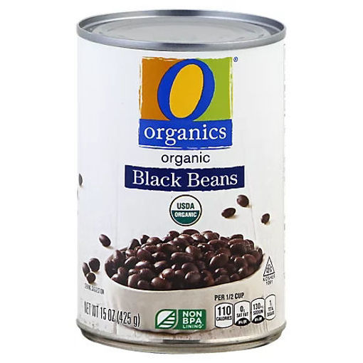 Picture of Organic Beans Black - 15 Oz