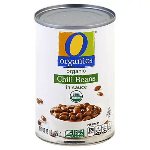 Picture of Organic Beans Chili In Sauces - 15 Oz