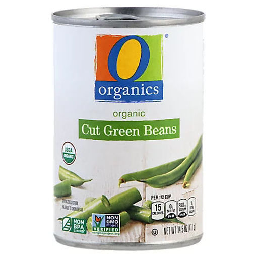 Picture of Organic Beans Green Cut - 14.5 Oz