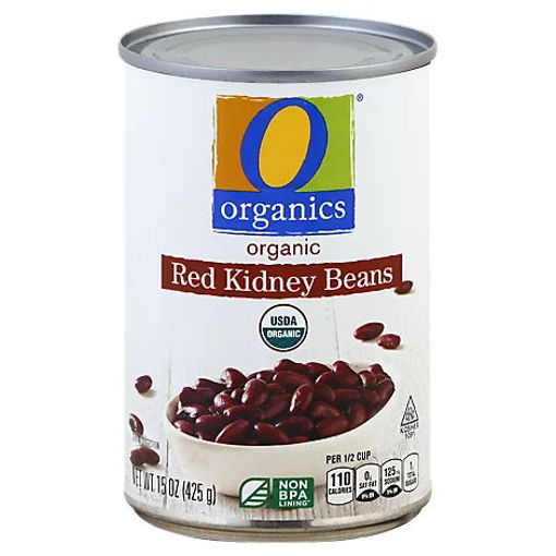 Picture of Organic Beans Red Kidney - 15 Oz