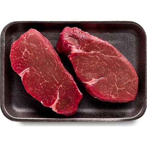Picture of Organic Beef Grass Fed Tenderloin Filet Mignon Steak - 0.50 LB
