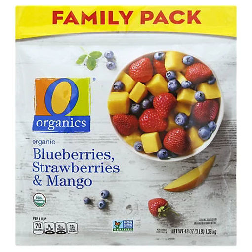 Picture of Organic Blueberries Strawberries & Mango - 48 Oz