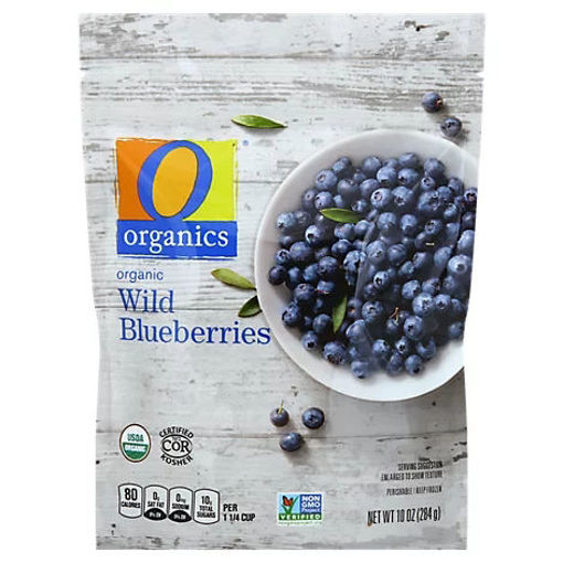 Picture of Organic Blueberries Wild - 10 Oz
