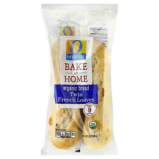 Picture of Organic Bread Loaves Twin French - Each