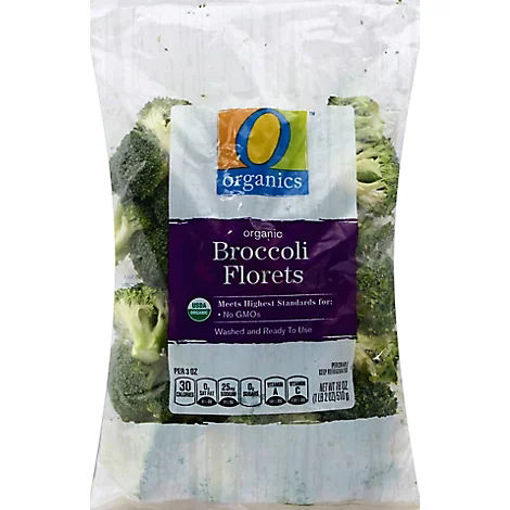 Picture of Organic Broccoli Florets - 18 Oz
