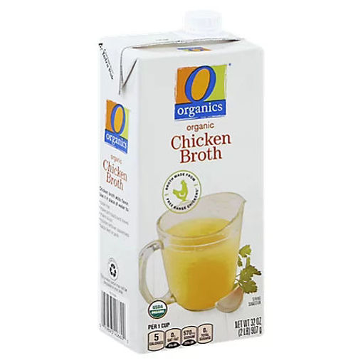 Picture of Organic Broth Chicken - 32 Oz