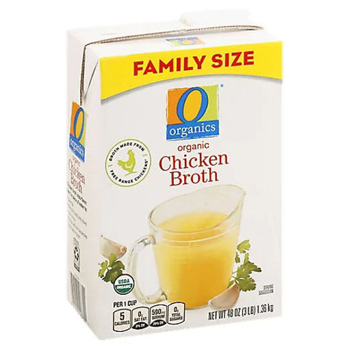 Picture of Organic Broth Chicken Flavored - 48 Oz