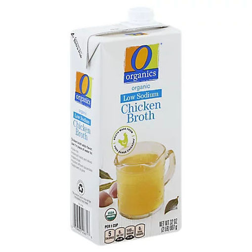 Picture of Organic Broth Chicken Low Sodium Aseptic - 32 Oz