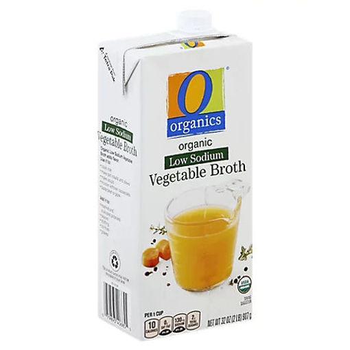 Picture of Organic Broth Low Sodium Vegetable - 32 Oz