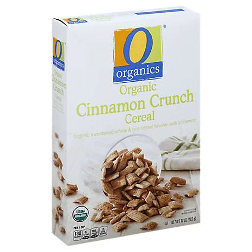 Picture of Organic Cereal Cinnamon Crunch - 10 Oz