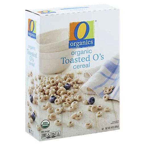 Picture of Organic Cereal Oat & Rice Toasted Os - 14 Oz