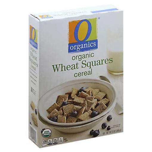 Picture of Organic Cereal Wheat Squares - 13 Oz