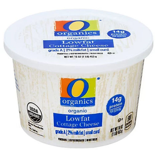 Picture of Organic Cheese Cottage 2% Milkfat Lowfat - 16 Oz