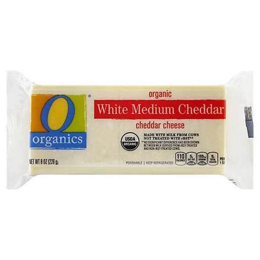 Picture of Organic Cheese White Cheddar - 8 Oz