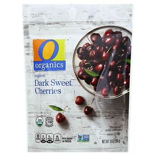 Picture of Organic Cherries Dark Sweet - 10 Oz