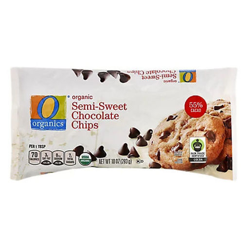 Picture of Organic Chocolate Chip Semi Sweet - 10 Oz