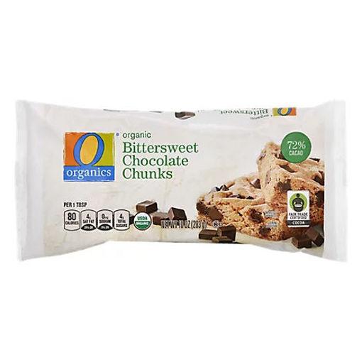 Picture of Organic Chocolate Chunks Bittersweet - 10 Oz