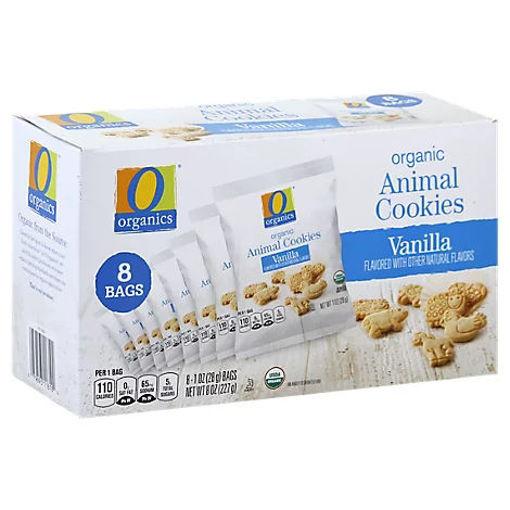 Picture of Organic Cookies Animal Vanilla Box - 8-1 Oz