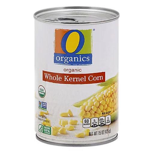 Picture of Organic Corn Whole Kernel - 15.25 Oz