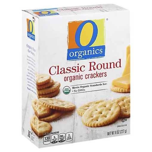 Picture of Organic Crackers Classic Round - 8 Oz