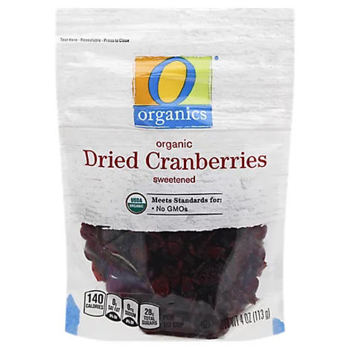 Picture of Organic Cranberries Dried - 4 Oz