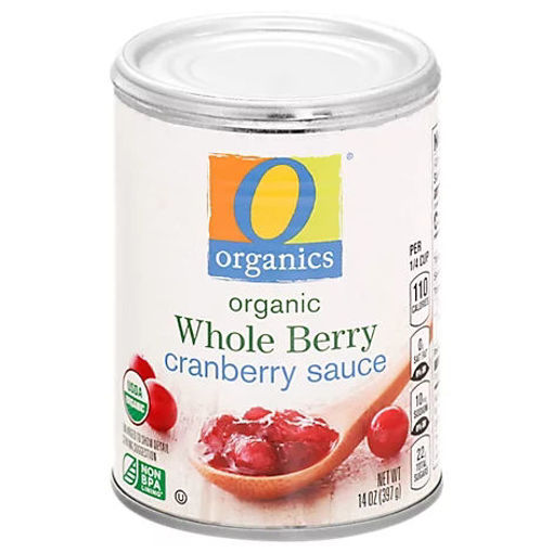 Picture of Organic Cranberry Sauce Whole Berry - 14 Oz