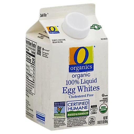 Picture of Organic Egg Whites Liquid Cholesterol Free - 16 Oz