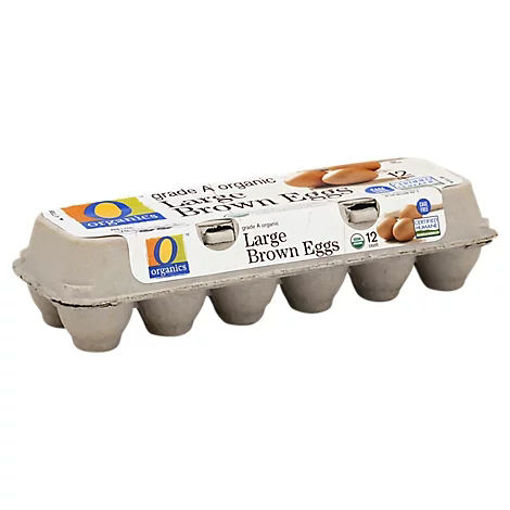 Picture of Organic Eggs Large Brown - 12 Count
