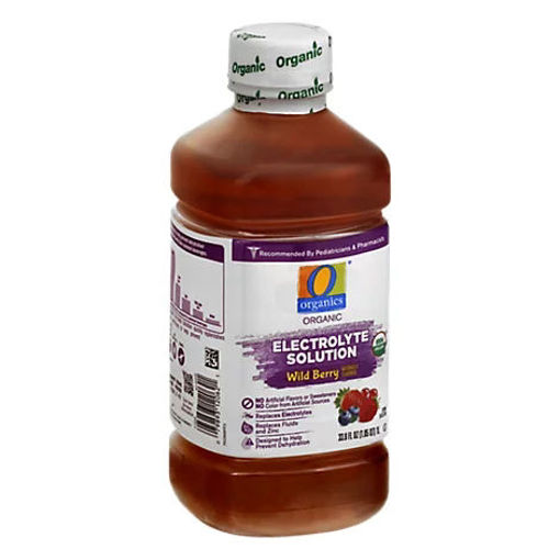 Picture of Organic Electrolyte Solution Wild Berry - 1 Liter