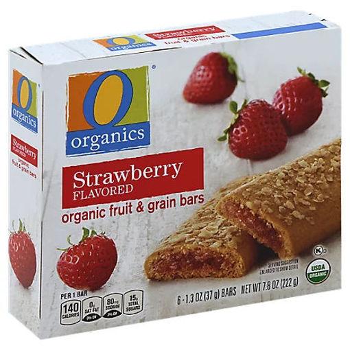 Picture of Organic Fruit & Grain Bars Strawberry - 6-1.3 Oz