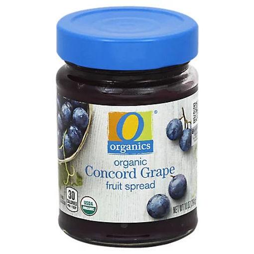 Picture of Organic Fruit Spread Concord Grape - 10 Oz