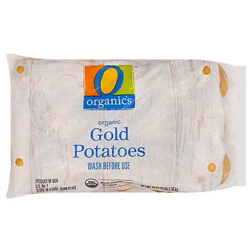 Picture of Organic Gold Potatoes Prepackaged - 3 Lb