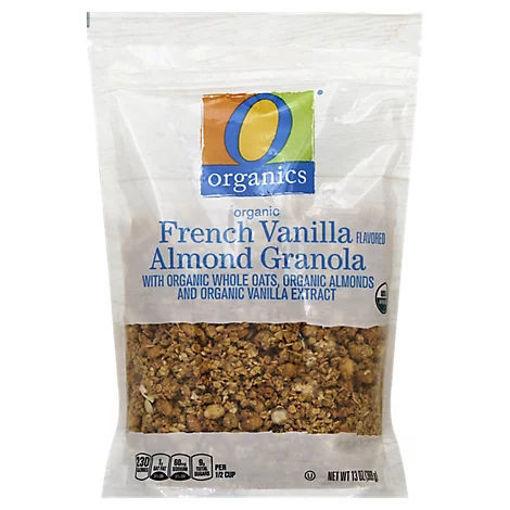 Picture of Organic Granola French Vanilla Flavored Almond - 13 Oz