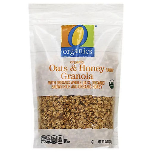 Picture of Organic Granola Oats & Honey Flavored - 13 Oz