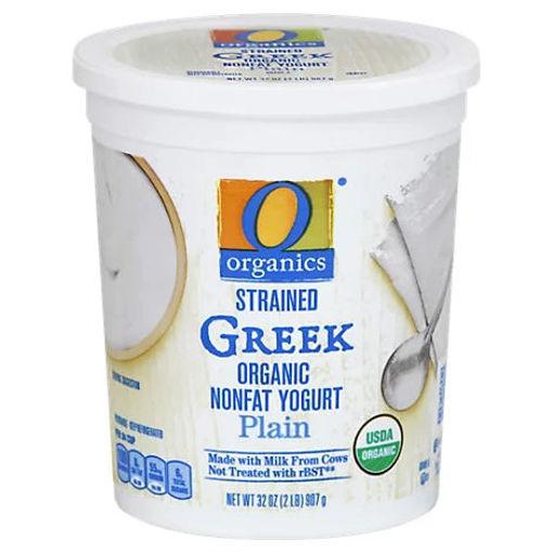 Picture of Organic Greek Yogurt Plain - 32 Oz