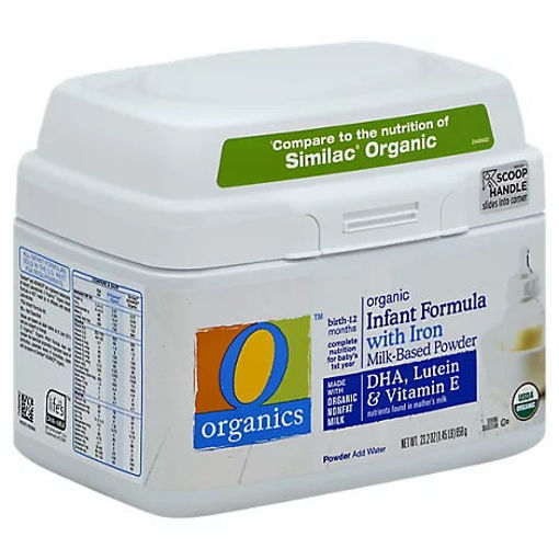 Picture of Organic Infant Formula Milk Based Powder Birth To 12 Months - 23.2 Oz
