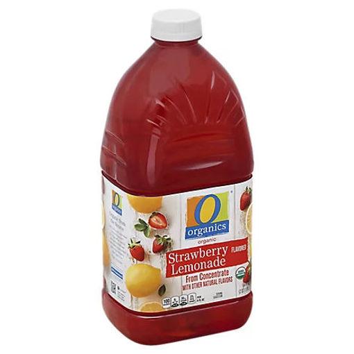 Picture of Organic Lemonade Strawberry - 64 Fl. Oz.