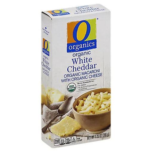 Picture of Organic Macaroni & Cheese White Cheddar Box - 7.25 Oz