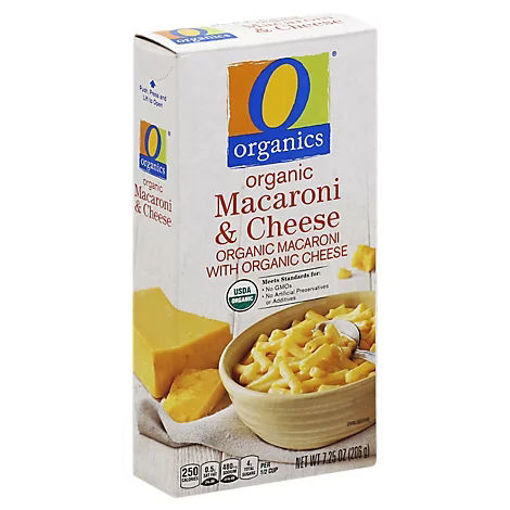 Picture of Organic Macaroni Cheese Box - 7.25 Oz