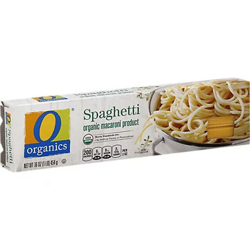 Picture of Organic Macaroni Product Spaghetti - 16 Oz