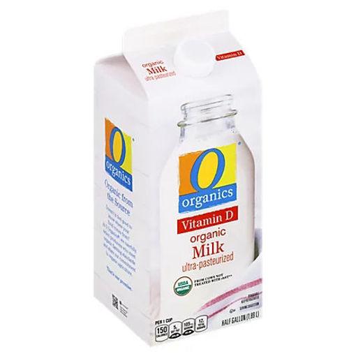 Picture of Organic Milk - Half Gallon