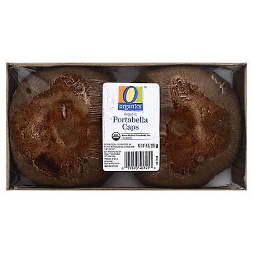 Picture of Organic Mushrooms Portabella Cap - 8 Oz