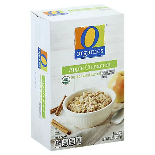 Picture of Organic Oatmeal Instant Apple Cinnamon - 8-1.41 Oz