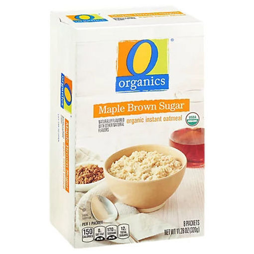 Picture of Organic Oatmeal Instant Maple Brown Sugar - 8-1.41 Oz