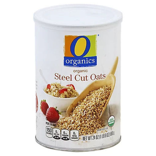 Picture of Organic Oats Steel Cut - 24 Oz