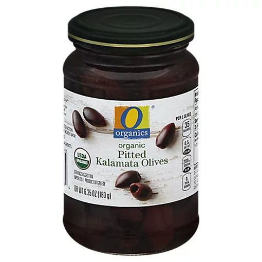 Picture of Organic Olives Kalamata Pitted - 6.35 Oz