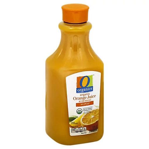 Picture of Organic Orange Juice No Pulp - 52 Fl. Oz.