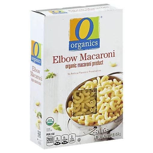 Picture of Organic Pasta Elbow Macaroni - 16 Oz